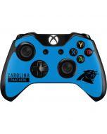 Carolina Panthers Blue Performance Series Xbox One Controller Skin
