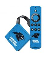 Carolina Panthers Distressed Alternate Amazon Fire TV Skin