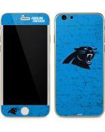 Carolina Panthers Distressed Alternate iPhone 6/6s Skin