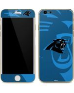 Carolina Panthers Double Vision iPhone 6/6s Skin
