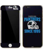 Carolina Panthers Helmet iPhone 6/6s Skin