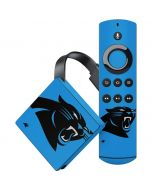 Carolina Panthers Large Logo Amazon Fire TV Skin