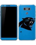 Carolina Panthers Large Logo LG G6 Skin