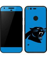 Carolina Panthers Large Logo Google Pixel Skin
