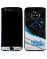 Carolina Panthers Moto X4 Skin