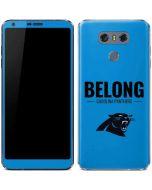 Carolina Panthers Team Motto LG G6 Skin