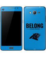 Carolina Panthers Team Motto Galaxy Grand Prime Skin