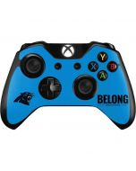 Carolina Panthers Team Motto Xbox One Controller Skin