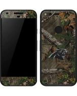 Carolina Panthers Realtree Xtra Green Camo Google Pixel Skin