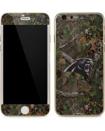 Carolina Panthers Realtree Xtra Green Camo iPhone 6/6s Skin