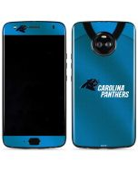 Carolina Panthers Team Jersey Moto X4 Skin