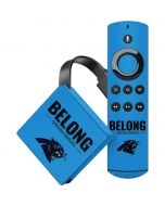 Carolina Panthers Team Motto Amazon Fire TV Skin