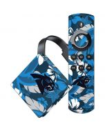 Carolina Panthers Tropical Print Amazon Fire TV Skin