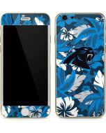 Carolina Panthers Tropical Print iPhone 6/6s Skin