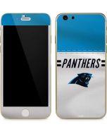 Carolina Panthers White Striped iPhone 6/6s Skin