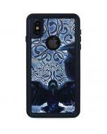 Celtic Raven iPhone XS Waterproof Case