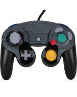 Charcoal Wood Nintendo GameCube Controller Skin