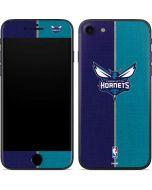 Charlotte Hornets Canvas iPhone 7 Skin