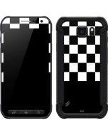 Checkerboard Split Galaxy S6 Active Skin