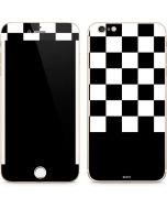 Checkerboard Split iPhone 6/6s Plus Skin