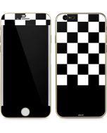Checkerboard Split iPhone 6/6s Skin