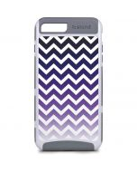 Chevron Purple Ombre iPhone 8 Plus Cargo Case