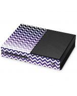 Chevron Purple Ombre Xbox One Console Skin