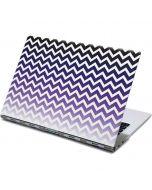Chevron Purple Ombre Yoga 910 2-in-1 14in Touch-Screen Skin