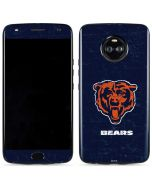 Chicago Bears - Alternate Distressed Moto X4 Skin