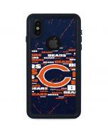 Chicago Bears Blast iPhone X Waterproof Case