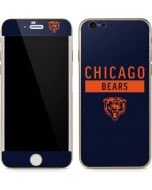 Chicago Bears Blue Performance Series iPhone 6/6s Skin
