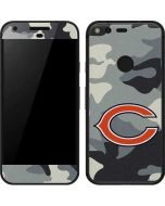 Chicago Bears Camo Google Pixel Skin