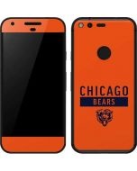 Chicago Bears Orange Performance Series Google Pixel Skin