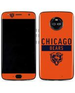 Chicago Bears Orange Performance Series Moto X4 Skin