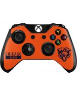 Chicago Bears Orange Performance Series Xbox One Controller Skin