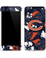 Chicago Bears Tropical Print iPhone 6/6s Plus Skin