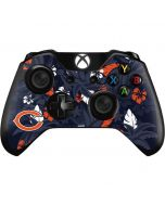 Chicago Bears Tropical Print Xbox One Controller Skin