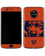 Chicago Bears Zone Block Moto X4 Skin