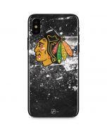 Chicago Blackhawks Frozen iPhone XS Skin