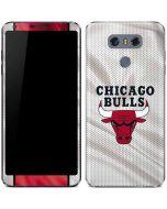 Chicago Bulls Away Jersey LG G6 Skin