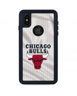 Chicago Bulls Away Jersey iPhone X Waterproof Case