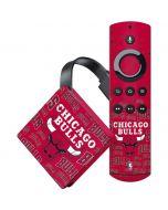 Chicago Bulls Blast Amazon Fire TV Skin