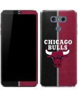 Chicago Bulls Canvas LG G6 Skin