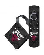 Chicago Bulls Dark Rust Amazon Fire TV Skin