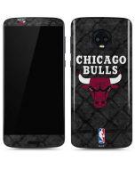 Chicago Bulls Dark Rust Moto G6 Skin