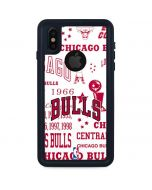 Chicago Bulls Historic Blast iPhone X Waterproof Case