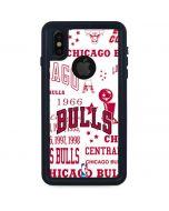 Chicago Bulls Historic Blast iPhone XS Waterproof Case