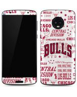 Chicago Bulls Historic Blast Moto G6 Skin