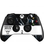 Chicago Bulls Marble Xbox One Controller Skin