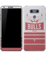 Chicago Bulls Static LG G6 Skin